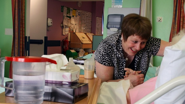 Improve a hospital stay for an older person