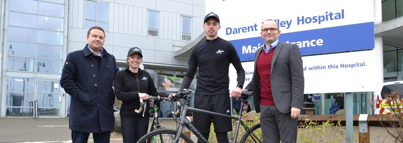 Dartford based company Artic support Ride4Life 2019