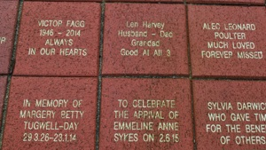 Sponsor a brick in the Valley Walk of Life