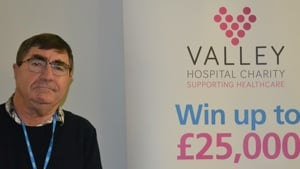 Hospital Volunteer wins £1,000 on Charity Lottery